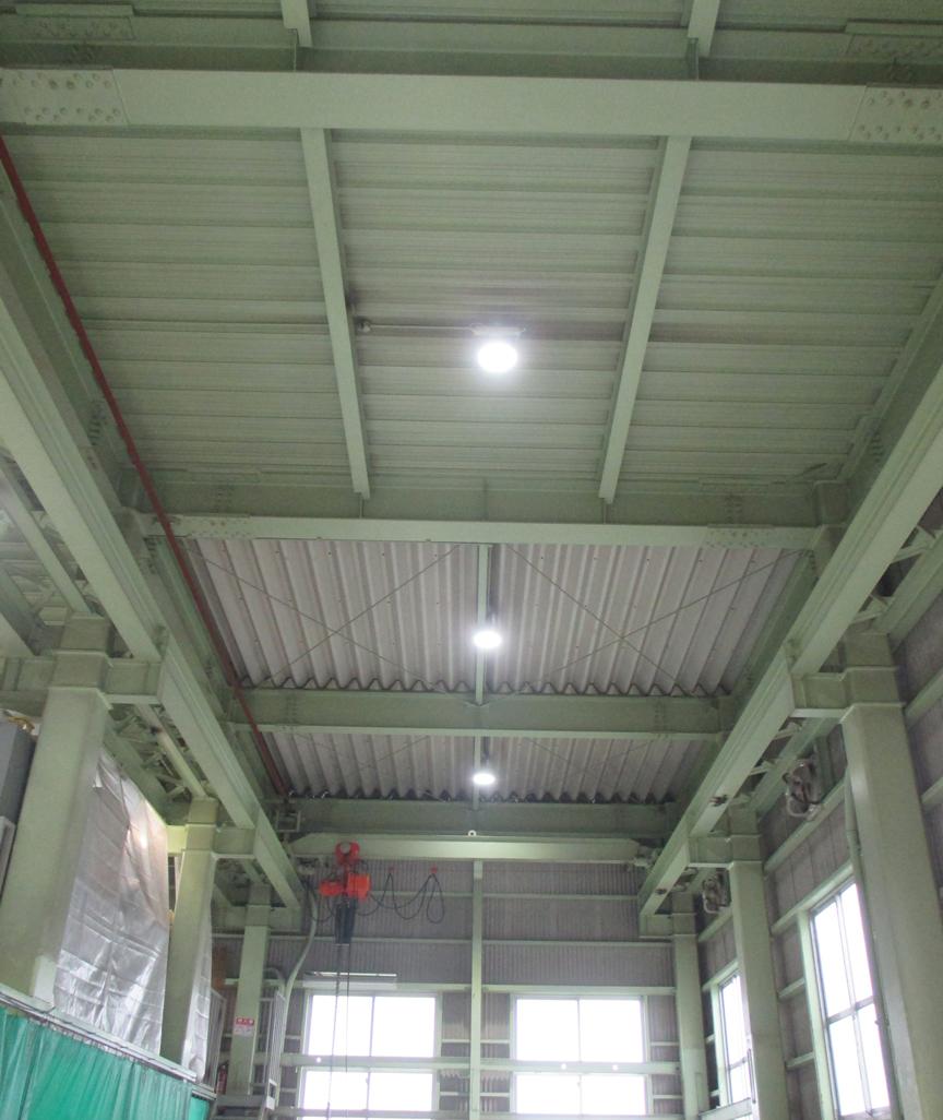 ㈱旭様 LED照明高天井