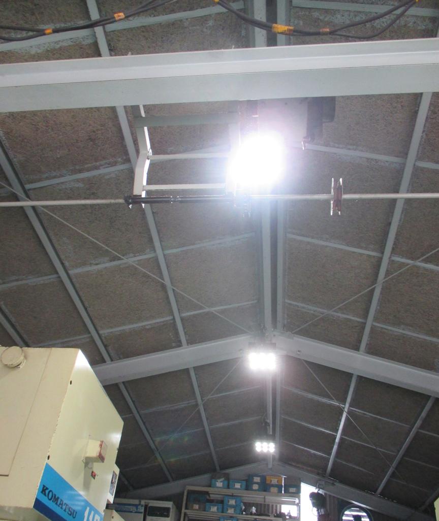 (有)誠金属様 LED照明・高天井