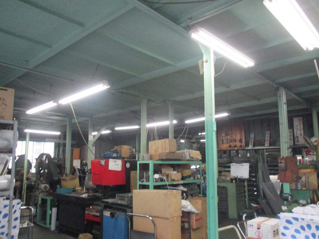㈱倉本製作所様 LED照明・直管