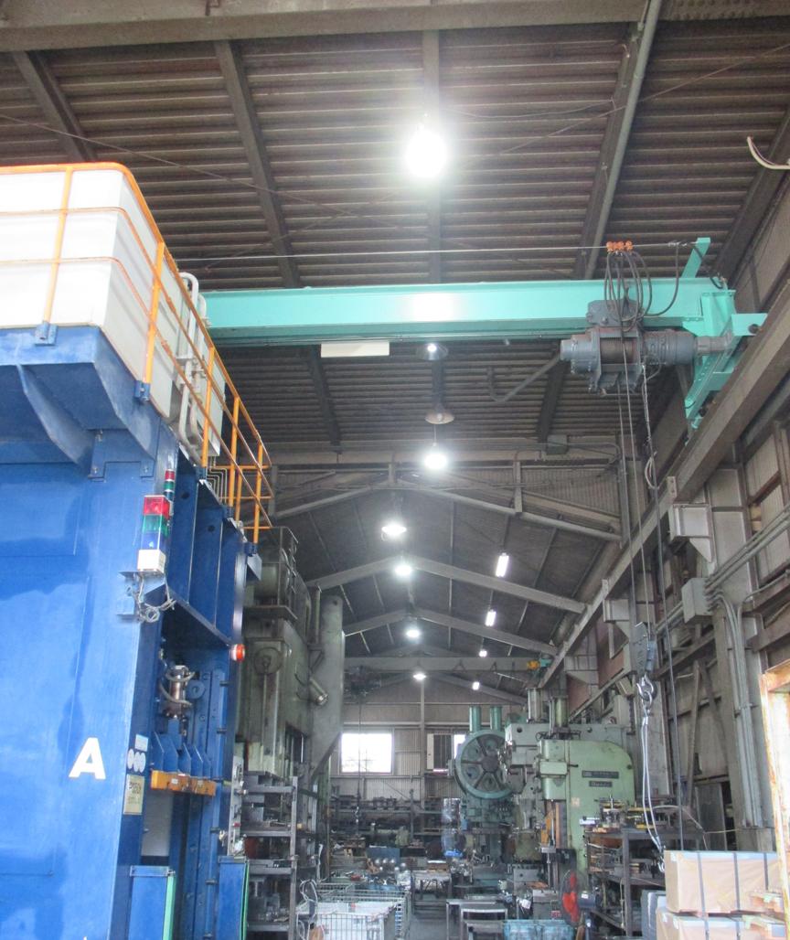 ㈱第一金属プレス工業所様 LED照明・高天井・直管