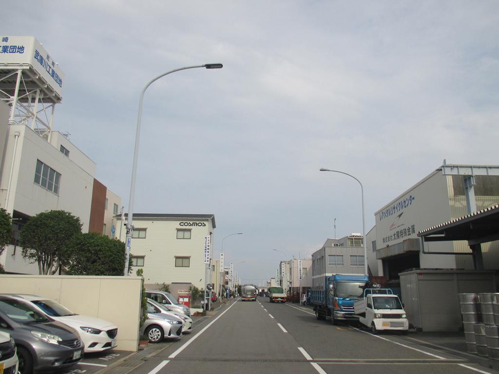 協同組合尼崎武庫川工業団地様LED照明・街路灯
